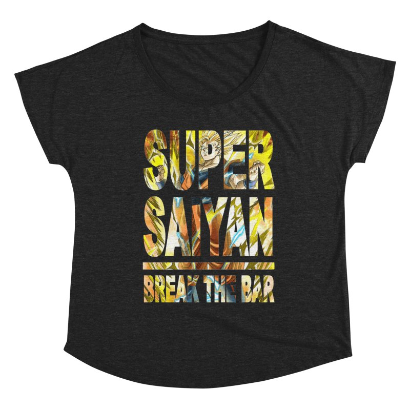 Super Saiyan Women's Scoop Neck by Break The Bar