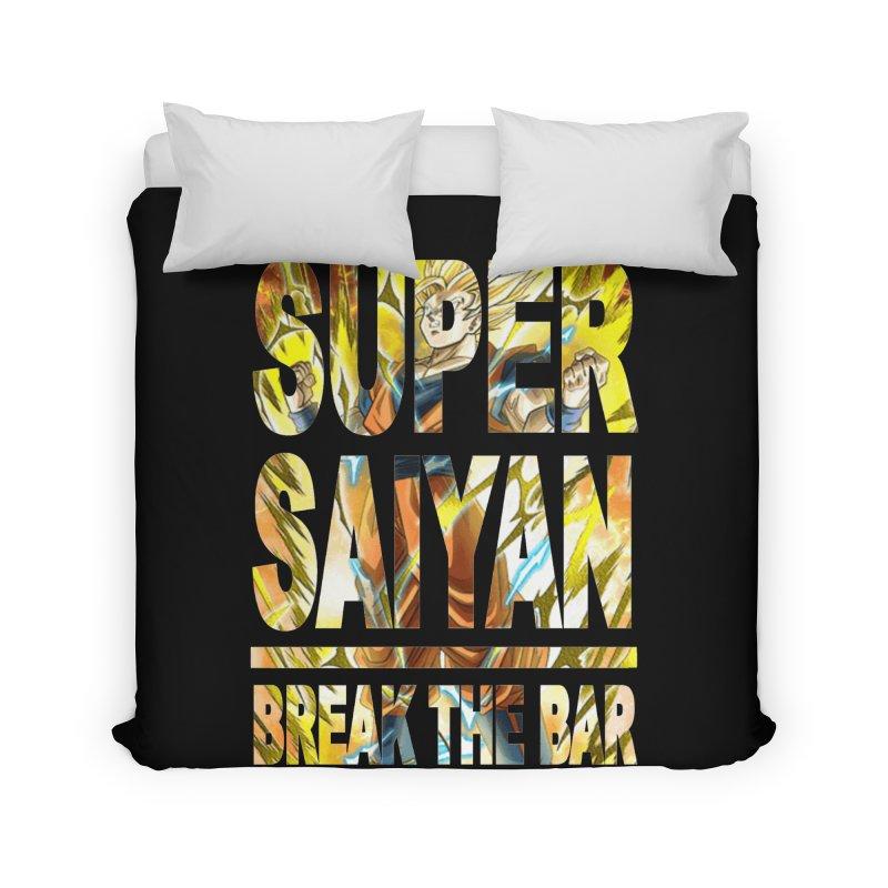 Super Saiyan Home Duvet by Break The Bar