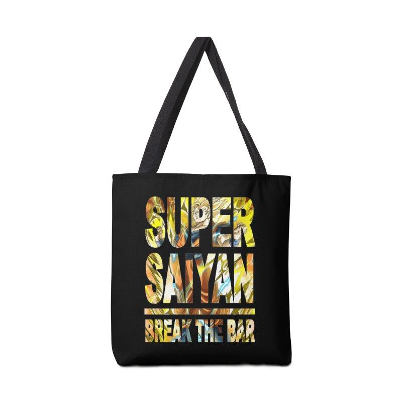 Super Saiyan Accessories Tote Bag Bag by Break The Bar