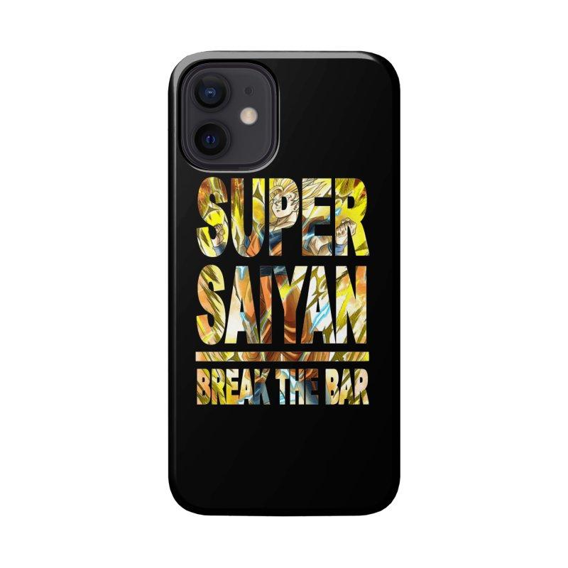 Super Saiyan Accessories Phone Case by Break The Bar