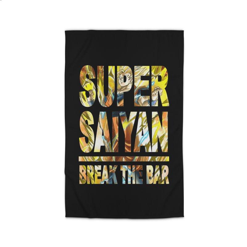 Super Saiyan Home Rug by Break The Bar