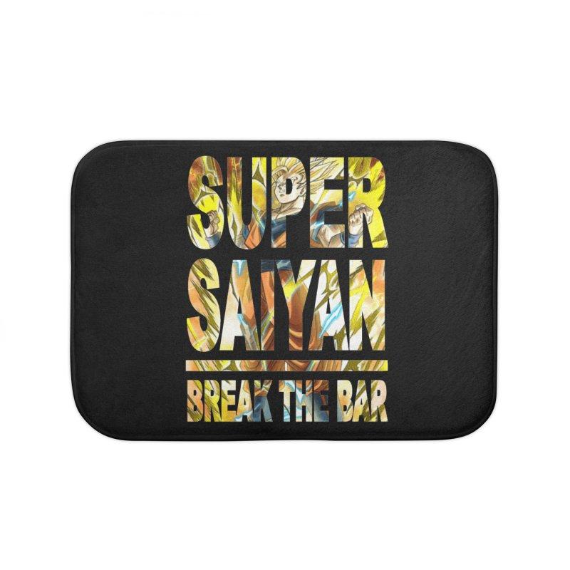 Super Saiyan Home Bath Mat by Break The Bar