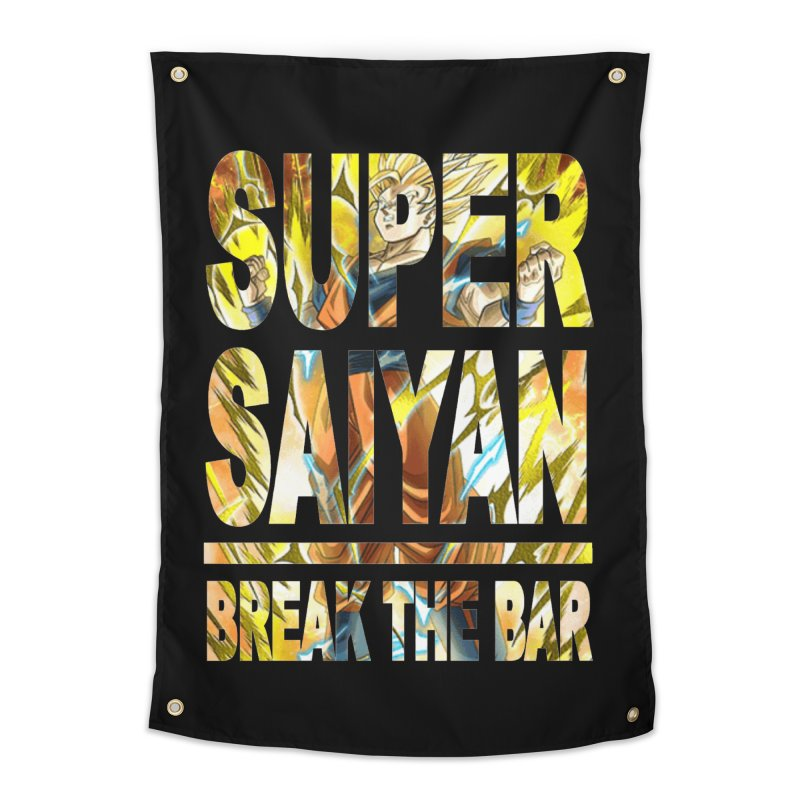 Super Saiyan Home Tapestry by Break The Bar