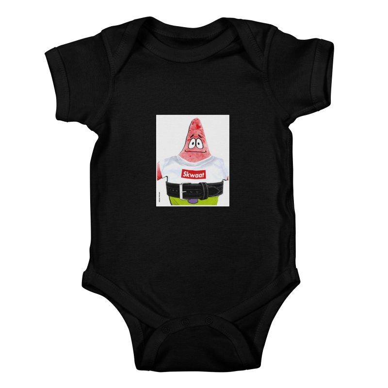 Portrait Kids Baby Bodysuit by Break The Bar