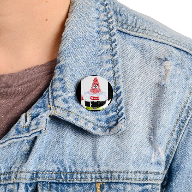 Portrait Accessories Button by Break The Bar