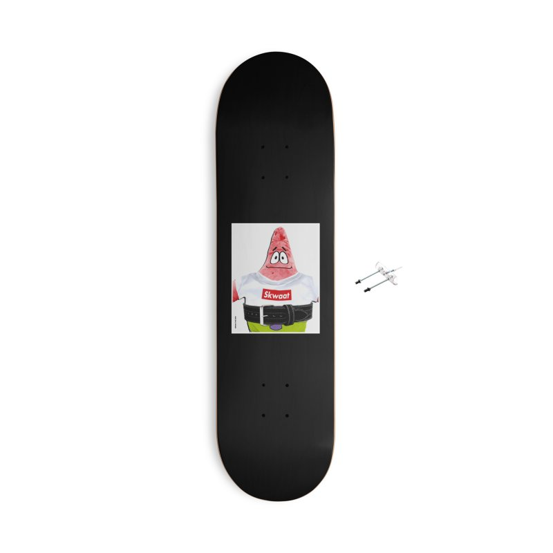 Portrait Accessories With Hanging Hardware Skateboard by Break The Bar