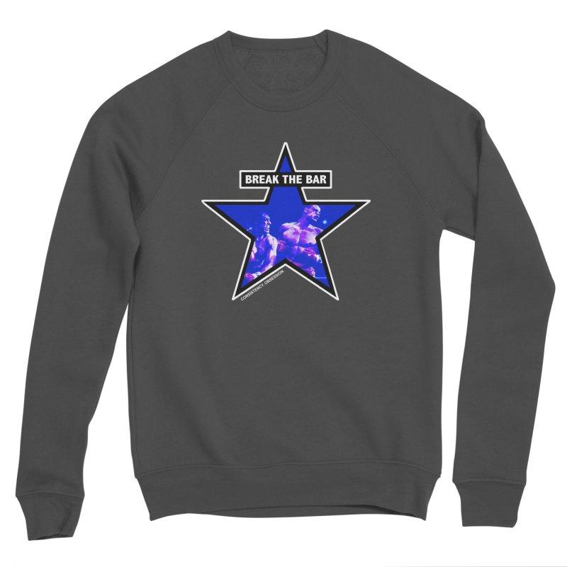 Knockout Men's Sweatshirt by Break The Bar