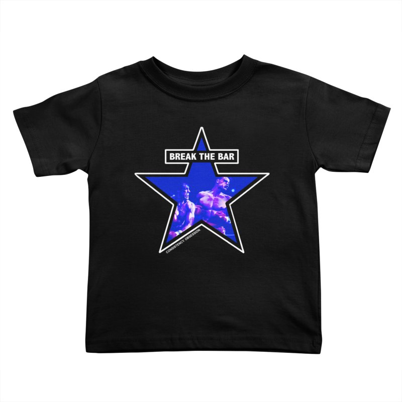 Knockout Kids Toddler T-Shirt by Break The Bar