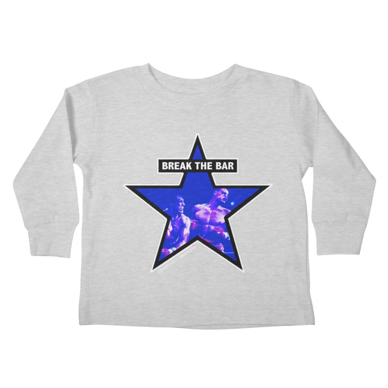 Knockout Kids Toddler Longsleeve T-Shirt by Break The Bar