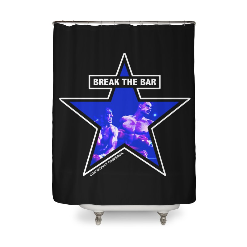 Knockout Home Shower Curtain by Break The Bar
