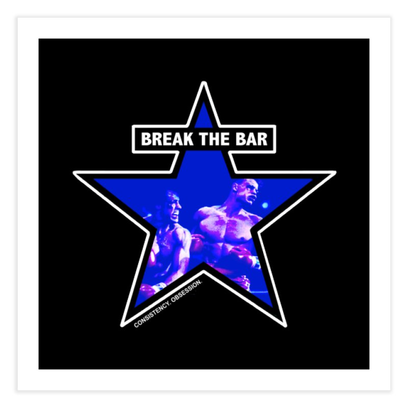 Knockout Home Fine Art Print by Break The Bar