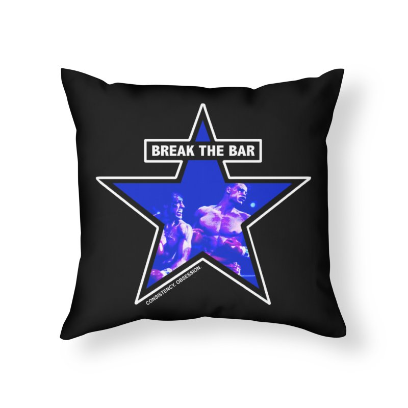 Knockout Home Throw Pillow by Break The Bar