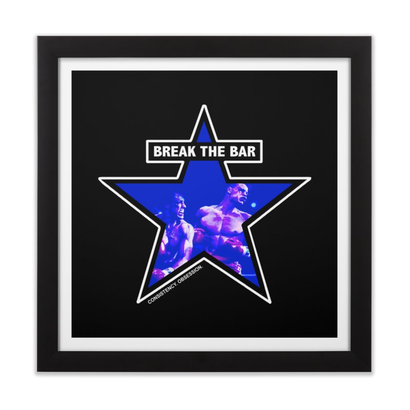 Knockout Home Framed Fine Art Print by Break The Bar