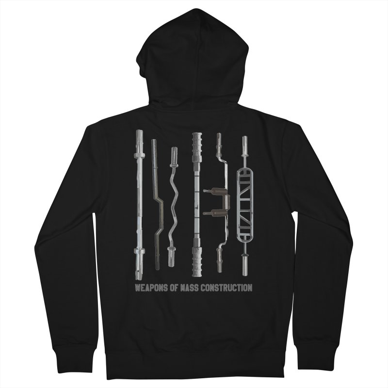 Weapons of Mass Construction Men's French Terry Zip-Up Hoody by Break The Bar