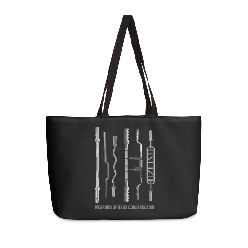 Weapons of Mass Construction Accessories Weekender Bag Bag by Break The Bar