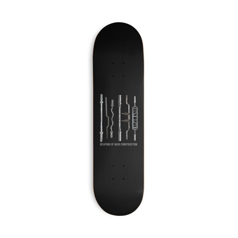 Weapons of Mass Construction Accessories Deck Only Skateboard by Break The Bar