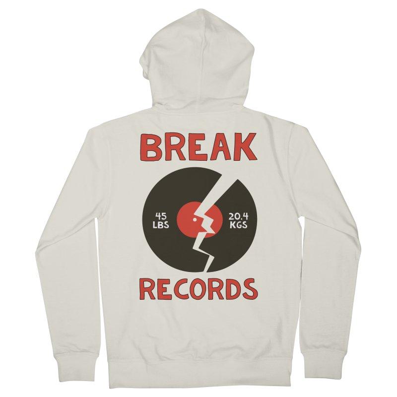 Break Records Women's Zip-Up Hoody by Break The Bar