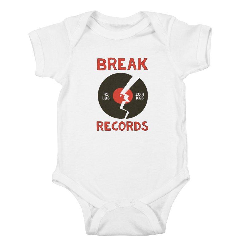 Break Records Kids Baby Bodysuit by Break The Bar