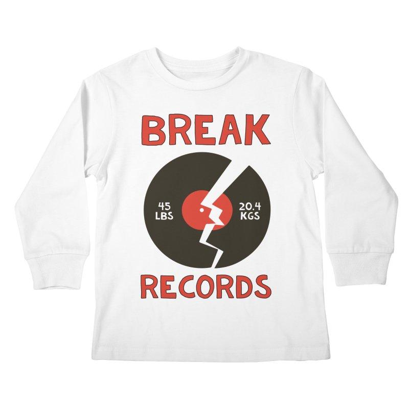 Break Records Kids Longsleeve T-Shirt by Break The Bar