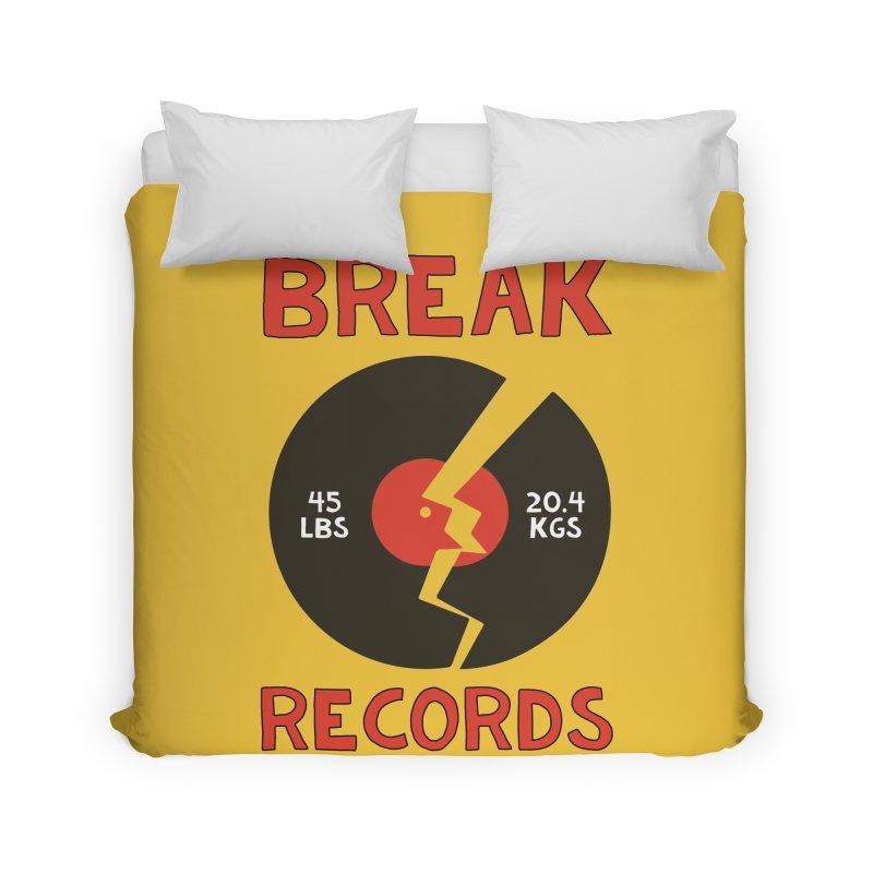 Break Records Home Duvet by Break The Bar