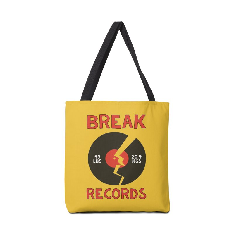 Break Records Accessories Bag by Break The Bar