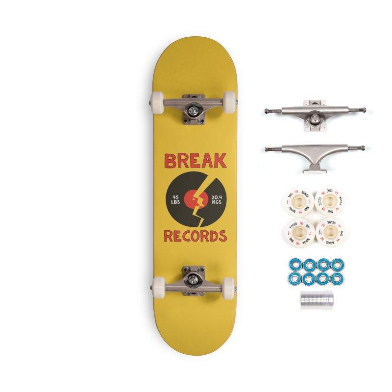Break Records Accessories Complete - Premium Skateboard by Break The Bar