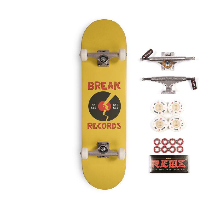 Break Records Accessories Complete - Pro Skateboard by Break The Bar