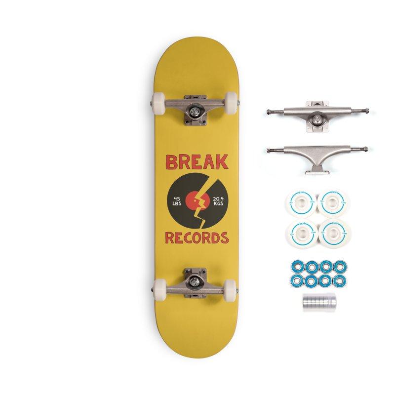 Break Records Accessories Complete - Basic Skateboard by Break The Bar