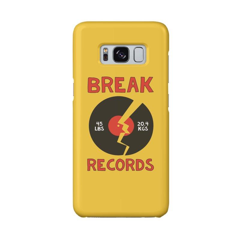 Break Records Accessories Phone Case by Break The Bar
