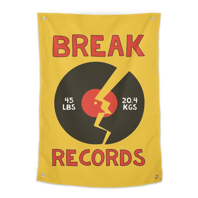 Break Records Home Tapestry by Break The Bar