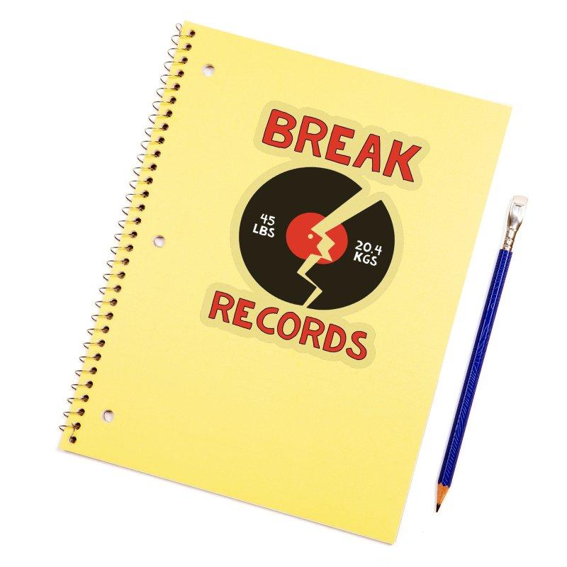 Break Records Accessories Sticker by Break The Bar