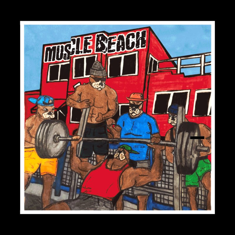 Muscle Beach Accessories Magnet by Break The Bar