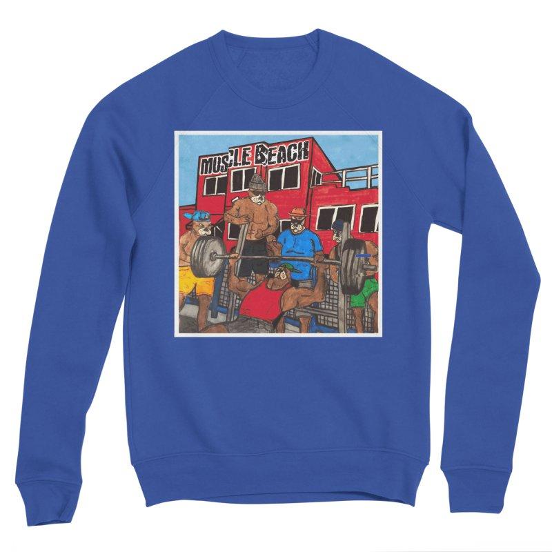 Muscle Beach Women's Sponge Fleece Sweatshirt by Break The Bar