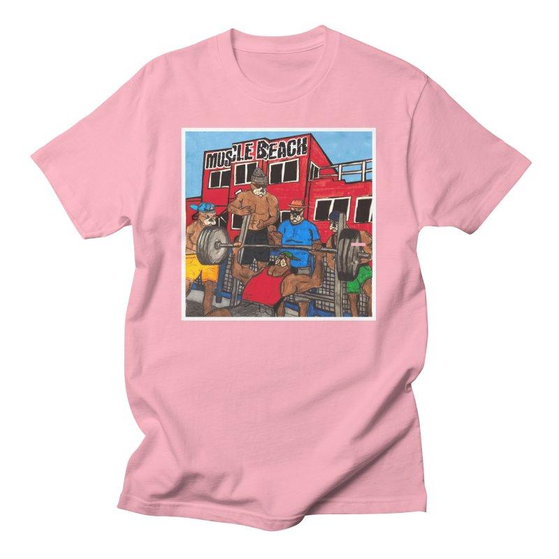 Muscle Beach Men's T-Shirt by Break The Bar