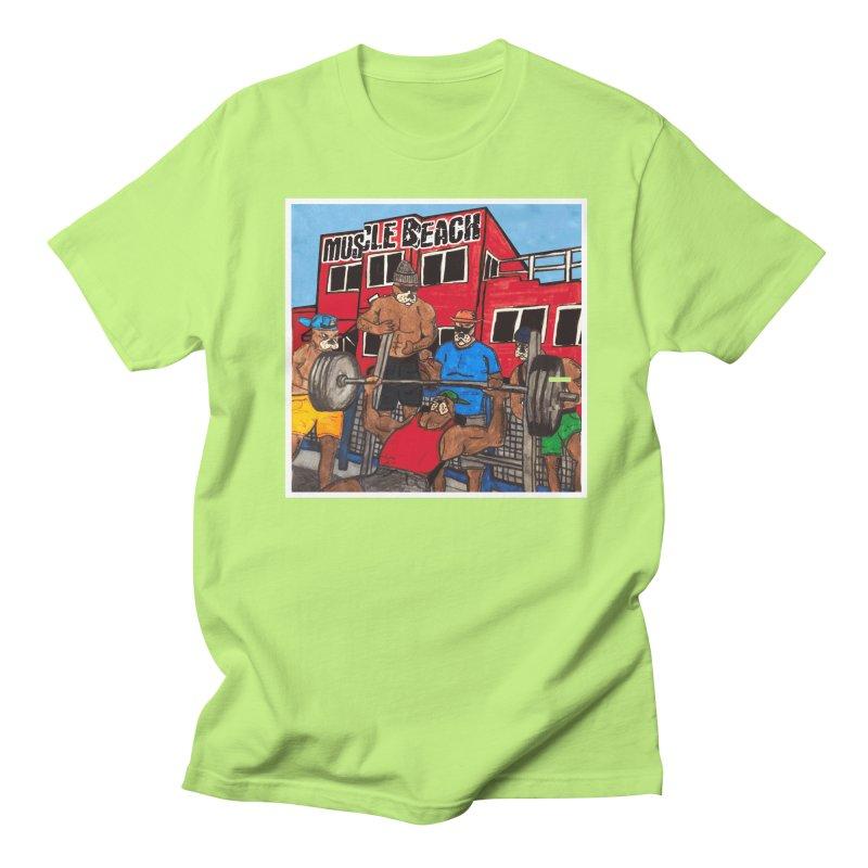 Muscle Beach Women's Regular Unisex T-Shirt by Break The Bar