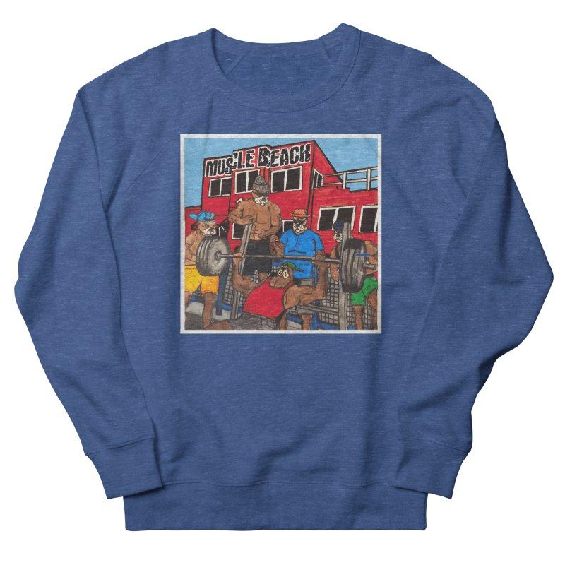 Muscle Beach Men's Sweatshirt by Break The Bar