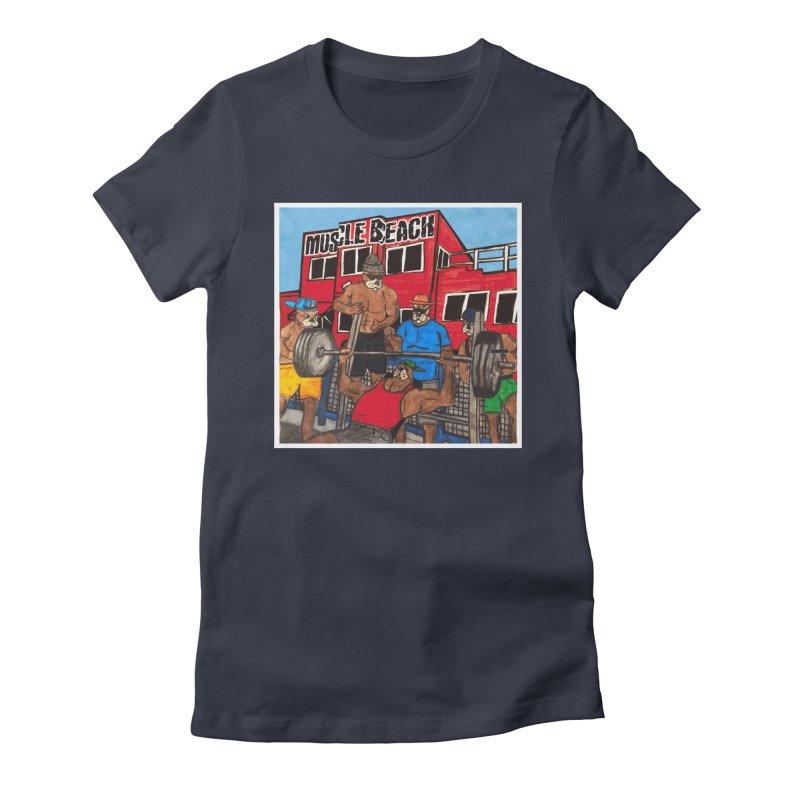 Muscle Beach Women's T-Shirt by Break The Bar