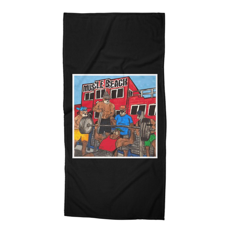 Muscle Beach Accessories Beach Towel by Break The Bar