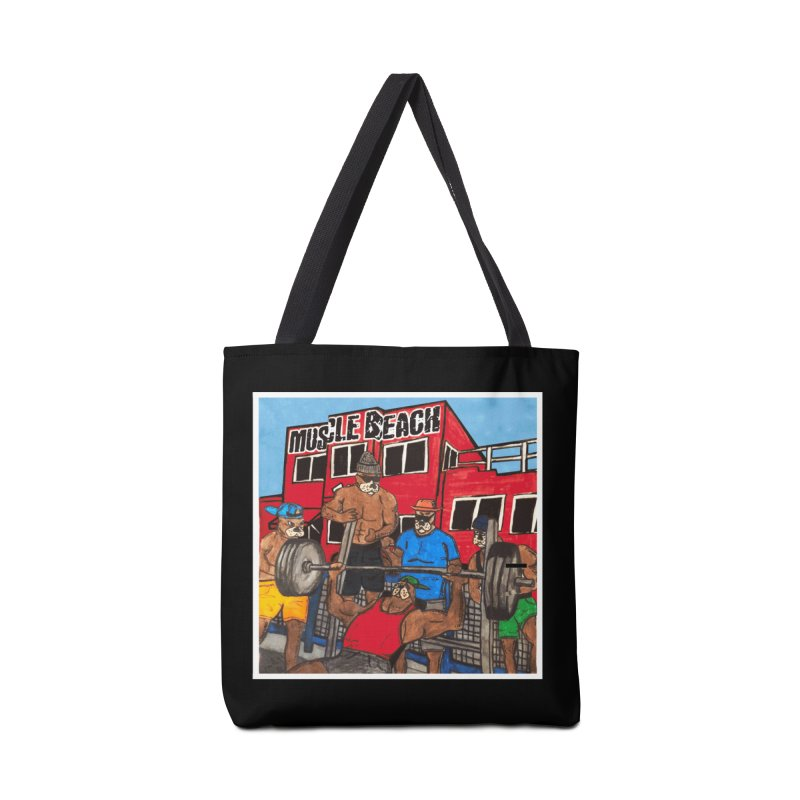 Muscle Beach Accessories Bag by Break The Bar
