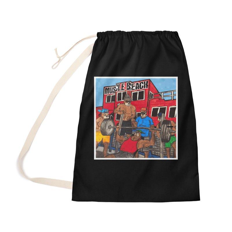 Muscle Beach Accessories Bag by Break The Bar