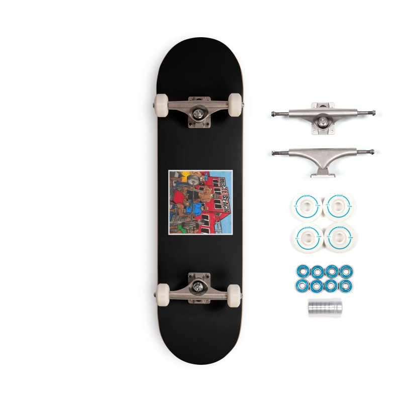 Muscle Beach Accessories Complete - Basic Skateboard by Break The Bar