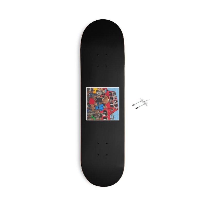 Muscle Beach Accessories With Hanging Hardware Skateboard by Break The Bar