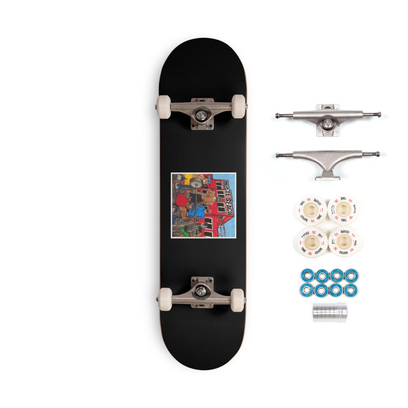 Muscle Beach Accessories Complete - Premium Skateboard by Break The Bar