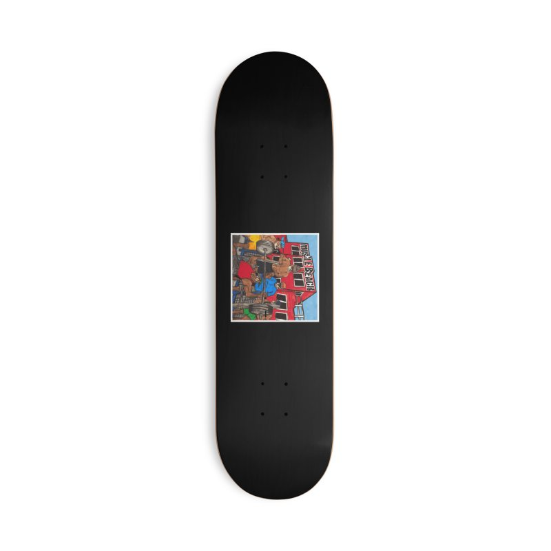 Muscle Beach Accessories Deck Only Skateboard by Break The Bar