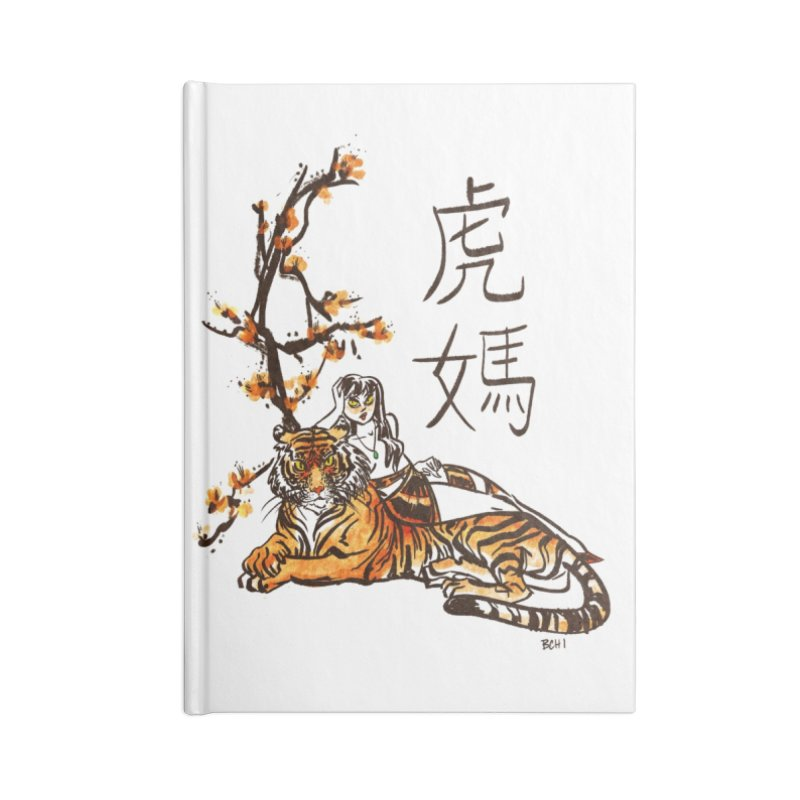 Tiger Mom Accessories Notebook by BCHI LA
