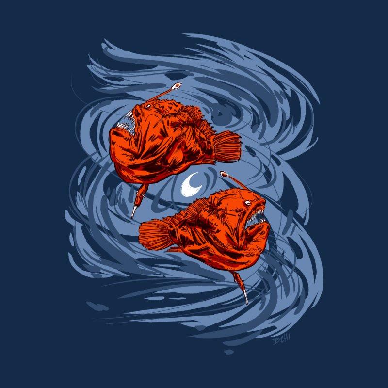 Anglerfish in Moonlight Women's Scoopneck by BCHI LA