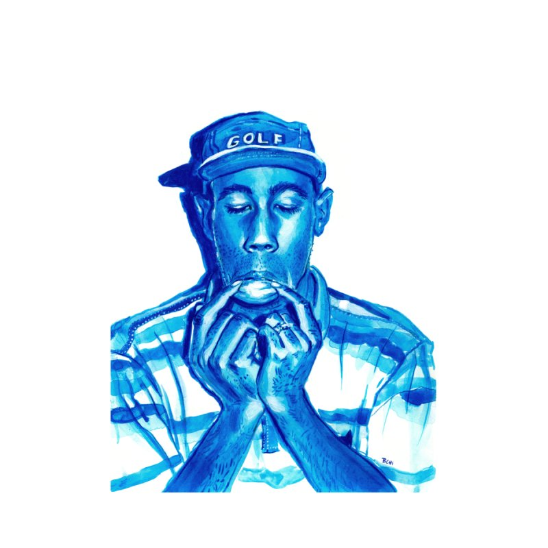 Tyler, The Creator in Blue by BCHI LA