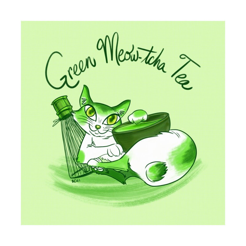 Green Meow-tcha Tea by BCHI LA