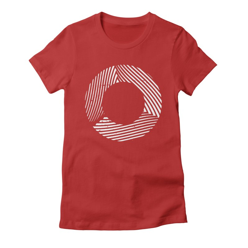 Contort Women's Fitted T-Shirt by Brent Galloway's Shop