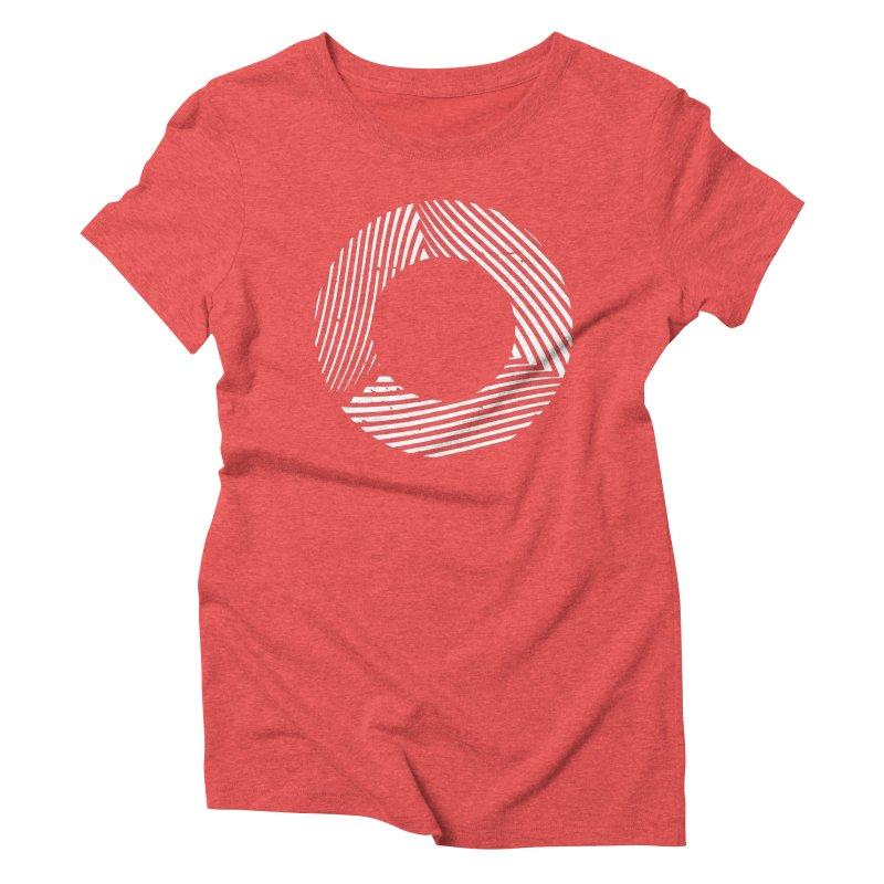 Contort Women's Triblend T-shirt by Brent Galloway's Shop